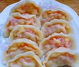 西红柿鸡蛋水饺的做法