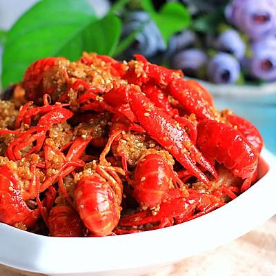 蒜蓉小龙虾 | 宝妈享食记