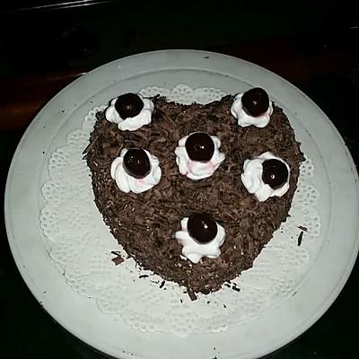 黑森林爱心蛋糕(6寸)