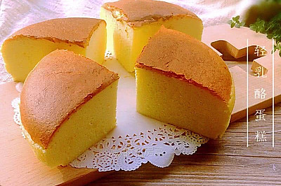 轻乳酪蛋糕#美的烤箱菜谱#