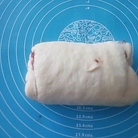 豆沙手撕面包#方太蒸爱行动#的做法图解6