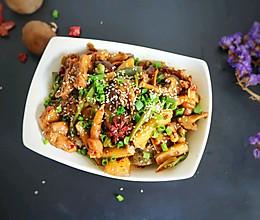 """干锅杂蔬鸡""""父亲节,给老爸做道菜""""的做法"""