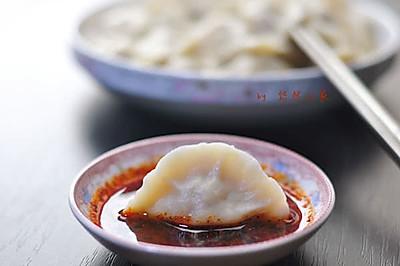 陕西年夜饭必备-莲菜大肉饺子