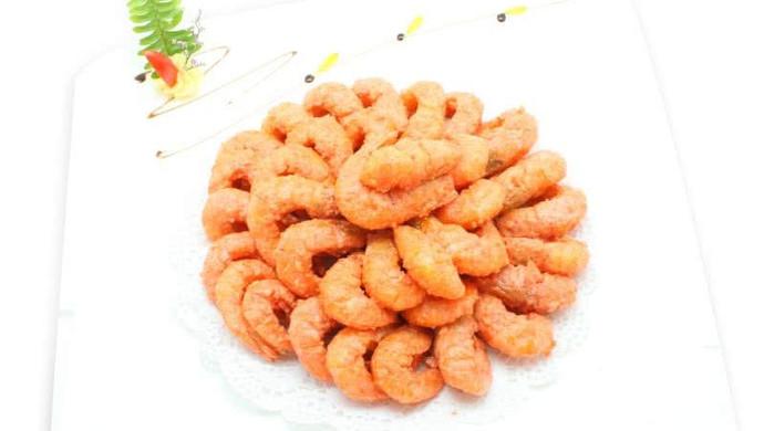 黄金海中虾