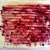 蓝莓蛋糕卷#haollee烘焙课堂#的做法图解20
