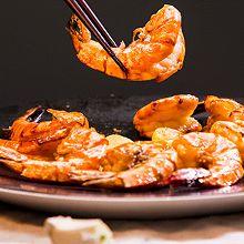 喼汁大虾:把虾做好很简单,一种酱汁就搞定
