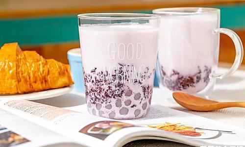 紫米波波茶|补血益气的做法