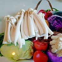 茄汁海鲜菇的做法图解3