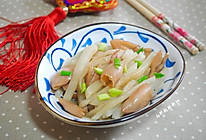 清炒萝卜乌贼#金龙鱼外婆乡小榨菜籽油#的做法
