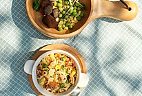奶油蘑菇烩饭的做法