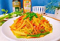 #做饭吧!亲爱的#鲜炒三丝的做法