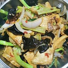 干锅千叶豆腐花菜