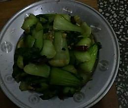 炝炒油菜的做法