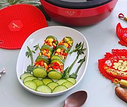 年夜饭之翠竹报春节节高的做法