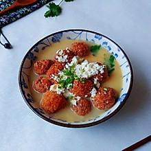 椒芫咸蛋豆腐丸