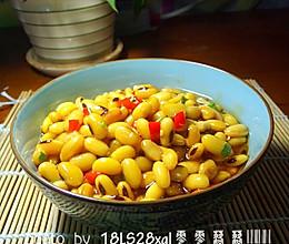 私房菜:宫保黄豆的做法