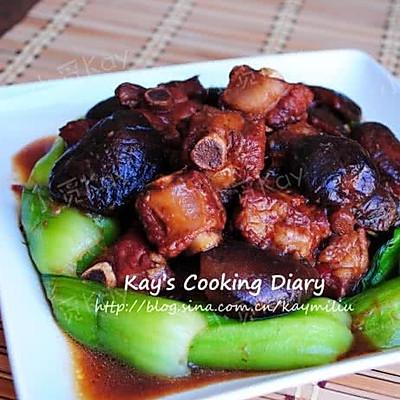 香菇青菜烧排骨