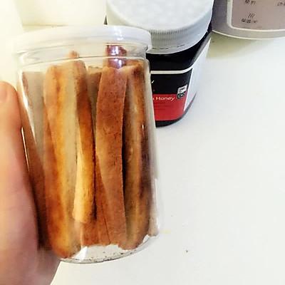 自制小零食 蜂蜜面包边
