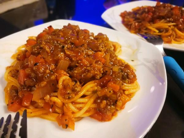意大利肉酱面~儿童简餐系列的做法