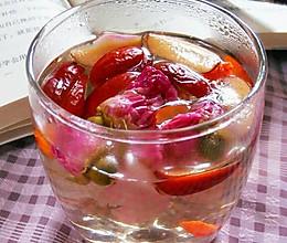 玫瑰花茶的做法