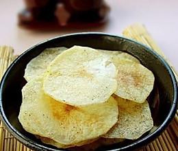自制非油炸薯片的做法