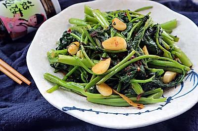 香菇酱炒空心菜