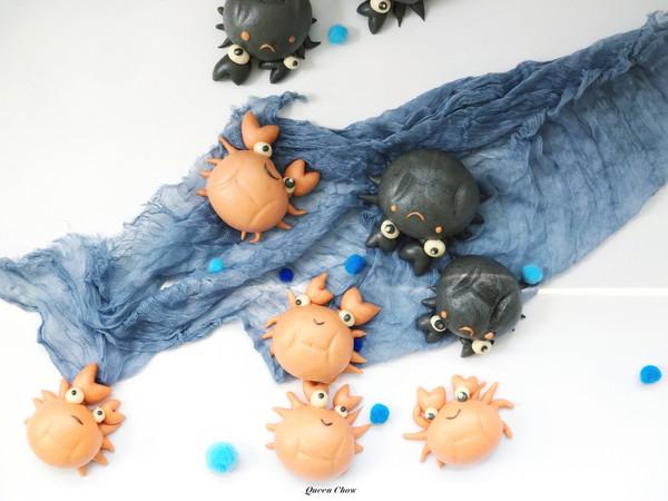 【小螃蟹卡哇伊包子】的做法