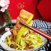 快手小炒—蒜黄炒肉#春天肉菜这样吃#的做法图解12