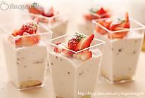 杯子草莓慕斯的做法