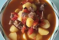 西红柿土豆牛腩汤的做法
