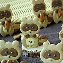 萌萌哒小浣熊饼干