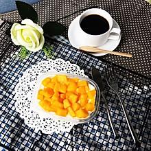 翘好吃的芒果千层盒子蛋糕