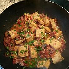 西红柿碎肉闷香脆豆腐