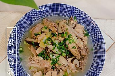 0⃣️基础简单会做营养丰富 香菇炖鸡汤