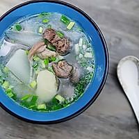 大雪润燥滋补:萝卜马蹄羊肉汤的做法图解9