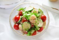 #一起土豆沙拉吧#⭐藜麦虾仁蔬菜沙拉⭐的做法