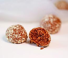 巧克力椰蓉酥球的做法