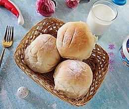 #福气年夜菜# 比馒头都简单,不用手套膜的面包的做法