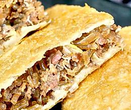 牛肉馅饼(皮薄肉厚的做法)的做法