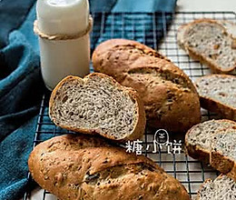 【多谷物牛奶面包】的做法
