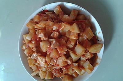 豆蔻玲珑(番茄土豆炖肉)