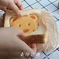 元气早餐:小熊三明治的做法图解6