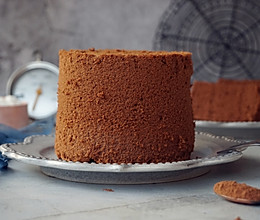4寸可可戚风蛋糕的做法