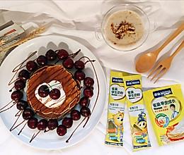 雀巢学生早餐:香蕉松饼的做法