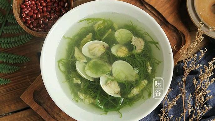 #花10分钟,做一道菜!#海草蛤蜊汤