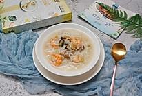 虾仁瑶柱蚝豉瘦肉粥的做法