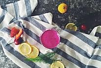 火龙果奇亚籽汁的做法