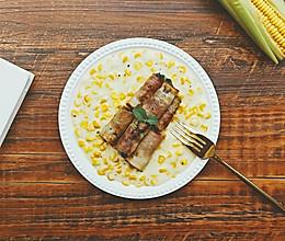 奶油玉米培根卷的做法