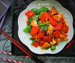 #多力金牌大厨带回家-北京站#尖椒豆腐的做法