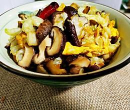 锦娘制——香菇白菜什锦炒的做法